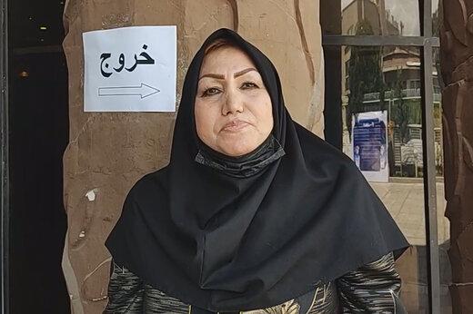 ببینید | خانمی که از تبریز آمده تا رئیس جمهور شود: اولین کاری که انجام می دهم ایجاد شغل برای مردم است
