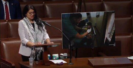 حمله مجدد نماینده کنگره آمریکا به اسرائیل
