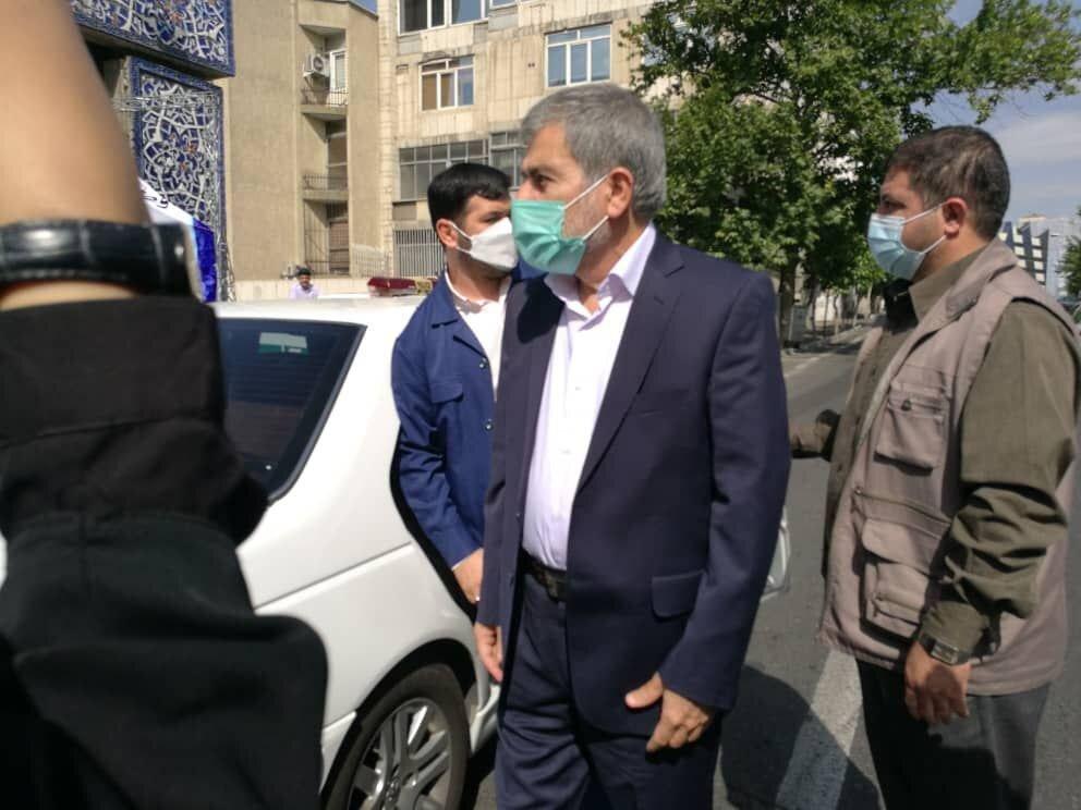 حضور فریدون عباسی در ستاد انتخابات کشور /سونامی دولتمردان احمدی نژاد ادامه دارد +عکس