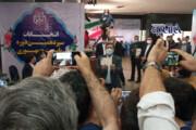 تصاویر | ژستهای جالب عبدالناصر همتی هنگام ثبتنام در انتخابات ۱۴۰۰
