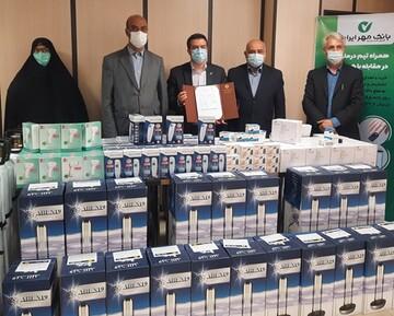 اهدای ۲۵۱قلم تجهیزات پزشکی به دانشگاه علوم پزشکی قزوین