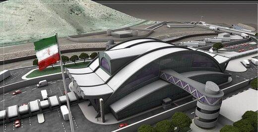 افتتاح طرح جامع پایانه مرزی رازی تا قبل از پایان دولت