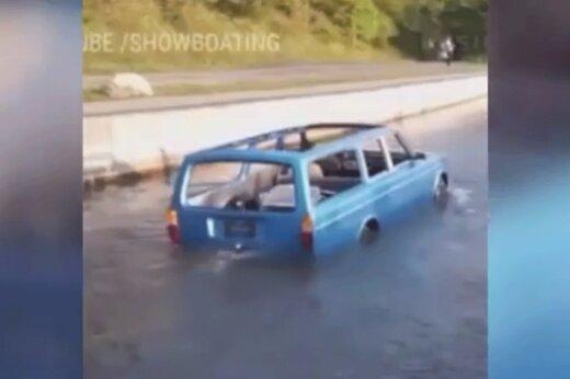 ببینید   خودرویی که قابلیت تبدیل شدن به قایق را دارد!
