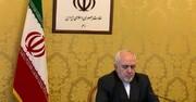 ظريف : لنبدأ حملة مؤسسية ضد الكيان العنصري الصهيوني
