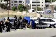 ببینید | لحظه حمله فلسطینی شهادتطلب به تجمع نظامیان صهیونیست
