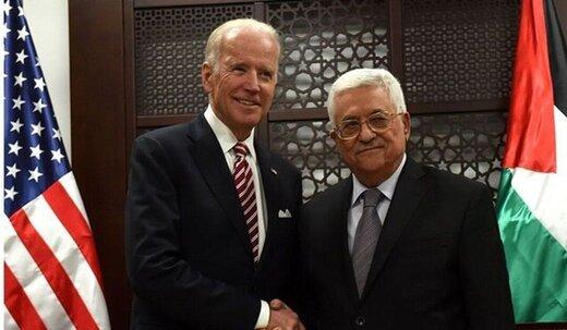 بایدن با محمود عباس تماس گرفت