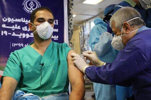 تاکنون ۴۵ هزار نفر برابر ویروس کرونا در همدان واکسینه شدند