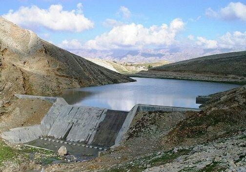 ۸۰۰ هزار متر مکعب بندهای خاکی جنوب دامغان آبگیری شد