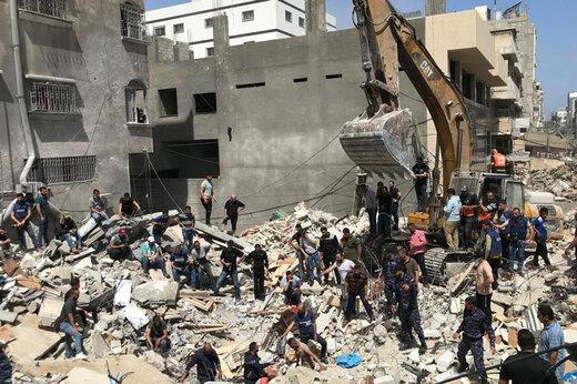 وحشیانهترین ساعات برای مردم غزه با100 حمله خشونت بار به باریکه/حمله به زمینهای کشاورزی تا ساختمان مسکونی/حمله مقاوت به اسرائیل با موشک بدر 3