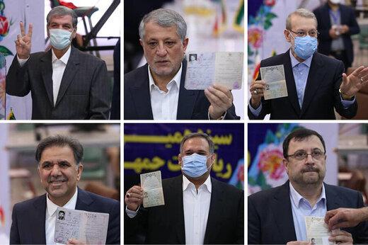 واکنش مردم به حضور پرشور مسئولان در انتخابات!