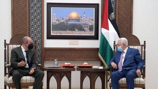 عباس خواستار مداخله آمریکا برای پایان جنگ شد