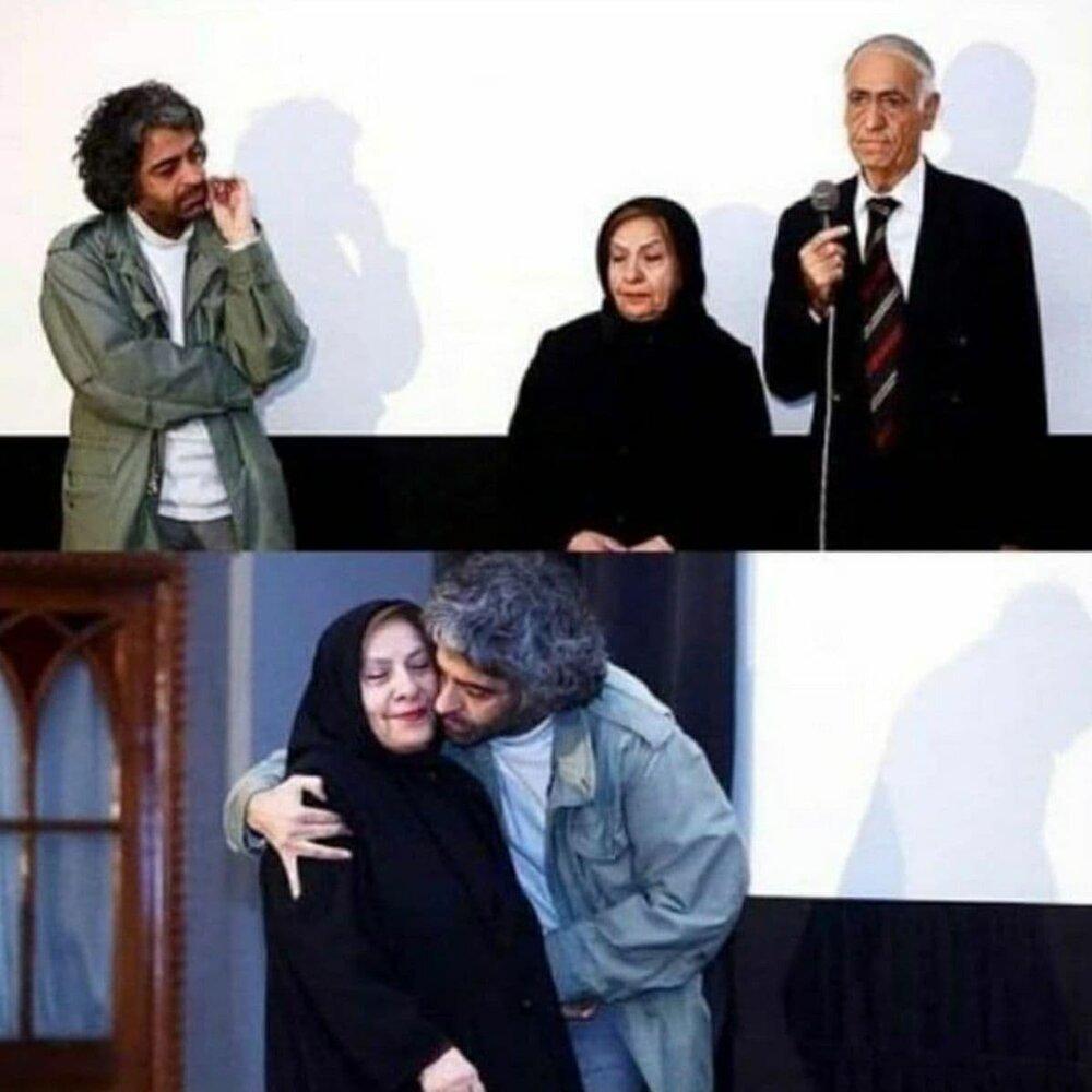 عکس | بابک خرمدین، کارگردان مقتول کنار پدر و مادرش