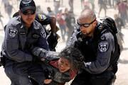 ببینید | حمله وحشیانه نظامیان صهیونیست به یک زن فلسطینی