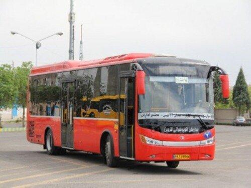 روزانه ۱۳هزار نفر مسافر با ناوگان اتوبوسرانی قزوین جابهجا میشوند