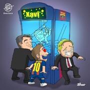 سورپرایز بارسلونا رو ببینید!