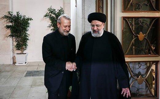 علی لاریجانی به ابراهیم رئیسی پیام داد