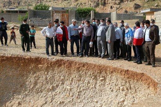 برداشتهای بیرویه مصالح از دامنه کوه عامل اصلی رانش زمین در روستای افسرآباد شهرستان اردل است