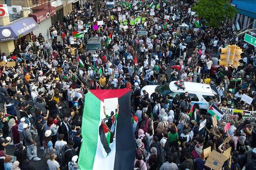 ببینید   تظاهرات ضد اسرائیلی در دل آمریکا