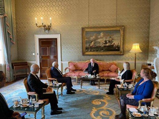 ظریف با رئیس جمهوری ایرلند دیدار کرد