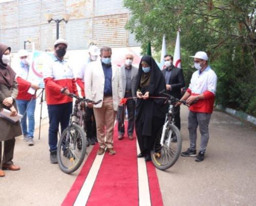 اجرای طرح سحاب هلال احمر در قزوین