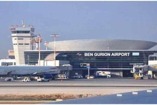 یک خودرو آتش گرفت؛فرودگاه بینالمللی بنگورین اسرائیل تعطیل شد