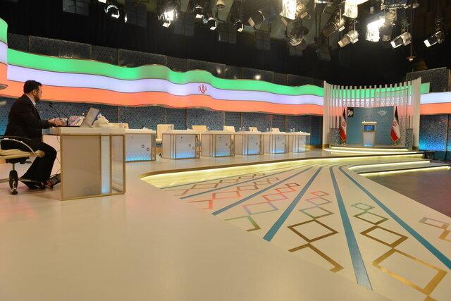 دکور و میزهای مناظرات انتخاباتی تلویزیون در سال ۸۸،۹۲ و ۹۶ /تغییر در راه است؟ +تصاویر