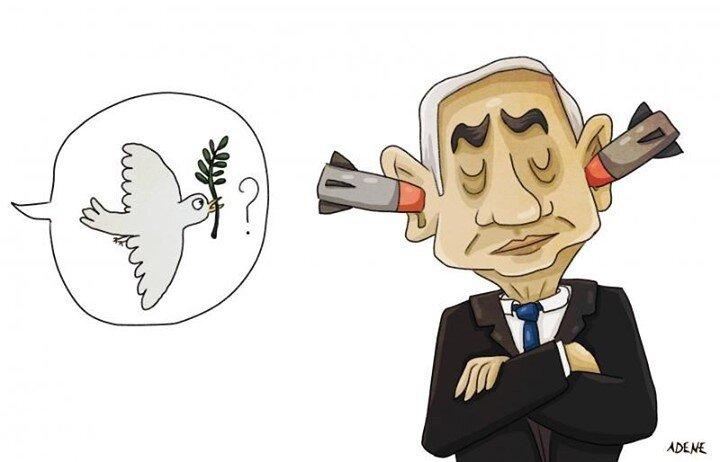 ببینید: نتانیاهو بالاخره راهشو پیداکرد!