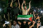 ببینید   شادی بزرگ فلسطینیان و جشن پیروزی مقاومت در برابر اسرائیل در بیت المقدس
