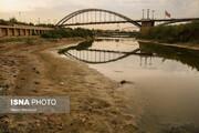 تصاویر | فریمهای تلخ از خشکسالی کارون زیبا