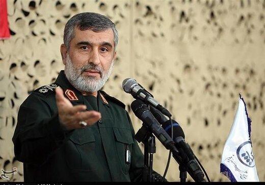 واکنش سردار حاجی زاده به اعتراف فرمانده نظامی آمریکا درباره قدرت پهپادی ایران