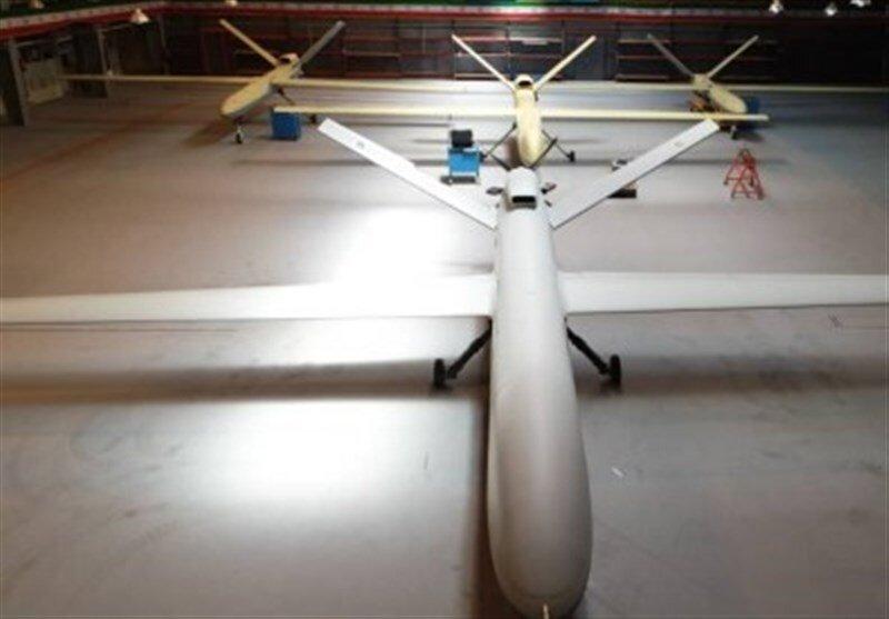 سورپرایز نظامی سپاه پاسداران /پهپاد پهنپیکر غزه با قابلیت حمل ۱۳ بمب وارد شد +عکس