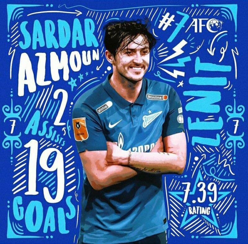 پوستر جذاب AFC برای سردار/عکس