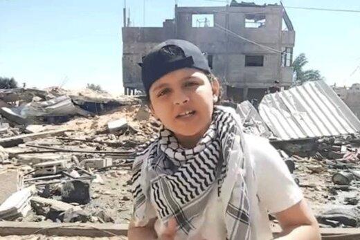 ببینید   رپخوانی جالب نوجوان فلسطینی