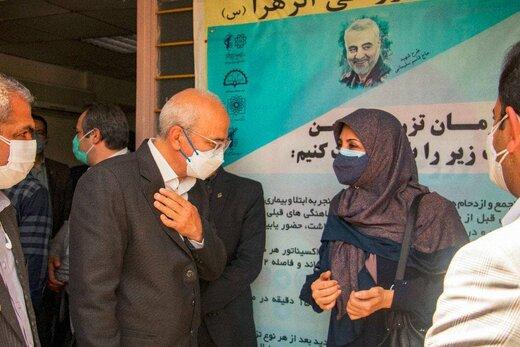 مرکز تجمیعی واکسیناسیون کرونا در منطقه ۱۲ تهران راهاندازی شد