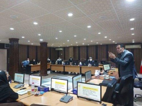 برگزاری دوره آموزشی « مدیریت بهداشت، ایمنی و محیط زیست» در منطقه آزاد قشم