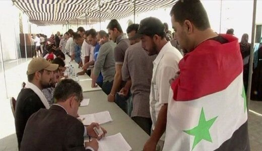 همین ایام بود... سوریها پای صندوق رفتند