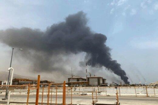 ببینید   آتشسوزی گسترده در انبار پتروپالایش کنگان