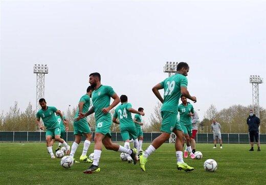 ببینید | اتفاق جالب در کمپ تیمهای ملی فوتبال؛ اردوی همزمان تیمهای زنان و مردان