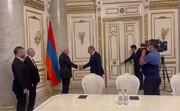 ظریف با نخستوزیر ارمنستان دیدار کرد