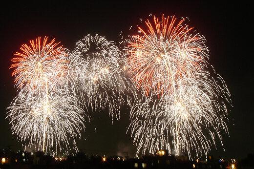 ببینید | جشنواره آتشبازی تماشایی در ژاپن