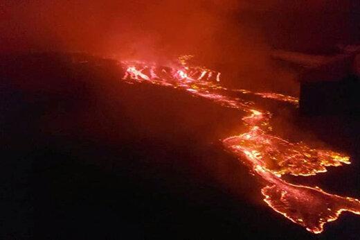 ببینید | روستاهای زیر گدازههای آتشفشانی