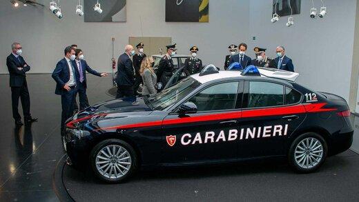 آلفارومئوی ضدگلوله برای پلیس ایتالیا