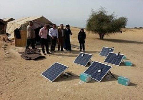 پنل های خورشیدی، سیاه چادرهای عشایر همدان را روشن کرد