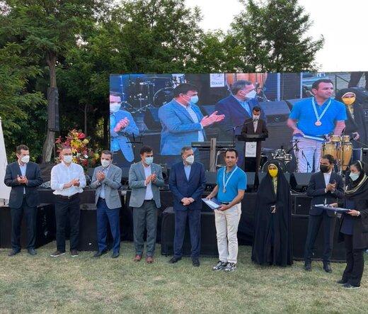 گلفباز آذربایجانغربی اولین مقام قهرمانی کشور را برای استان به ارمغان آورد
