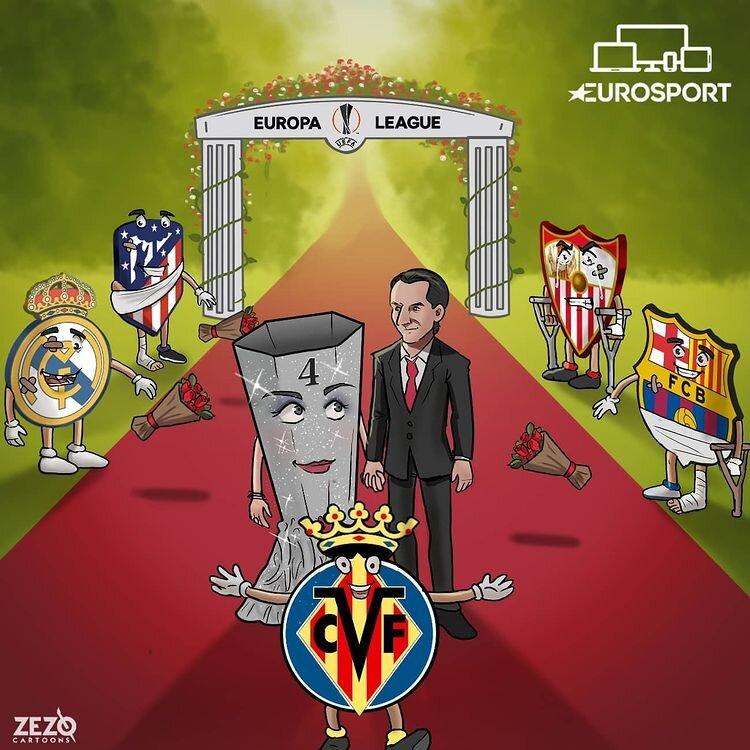 ببینید: بالاخره امری و جام لیگ اروپا به هم رسیدند!