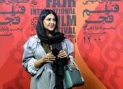 آزاده صمدی در جشنواره جهانی فیلم فجر/ عکس