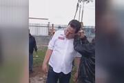 ببینید | طناب دار به گردن سیاستمدار بخاطر عمل نکردن به وعده ها در مکزیک