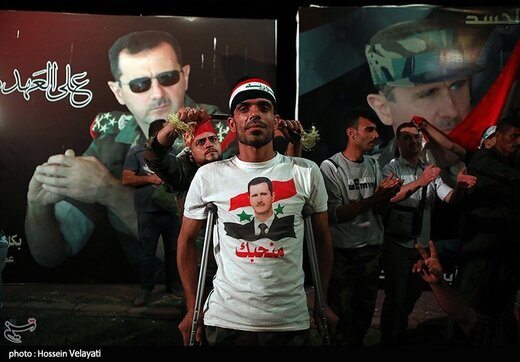 پوتین به اسد تبریک گفت