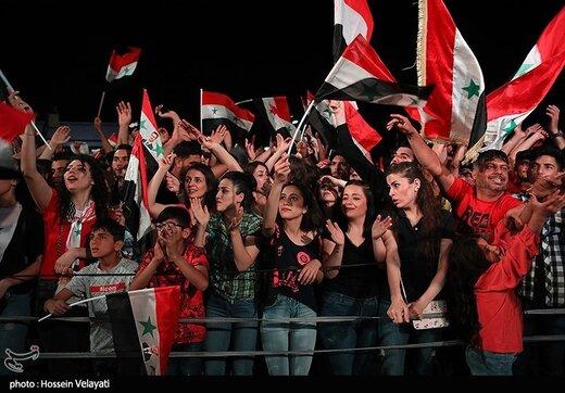 جشن پیروزی بشار اسد در انتخابات ریاست جمهوری
