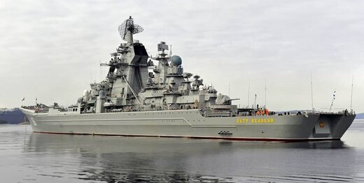 رزمایش دریایی روسیه با حضور رزمناو هستهای